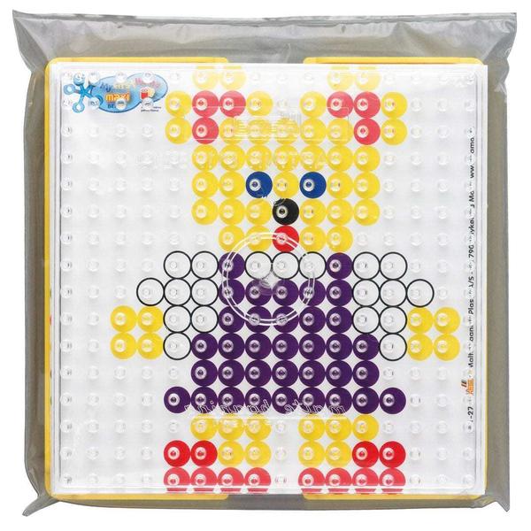 Kit motif perles à repasser avec cadre