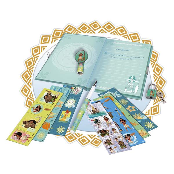 Mon carnet secret scintillant Vaiana - Disney Princesses