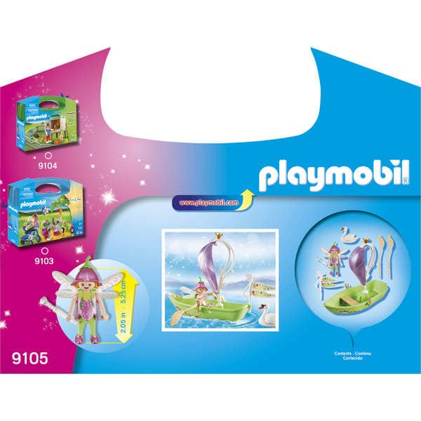 9105-Valisette bateau de fées Playmobil
