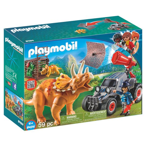 Playmobil Avec Jouet Bandit TricératopsKing 9434 CrdsxhtQ
