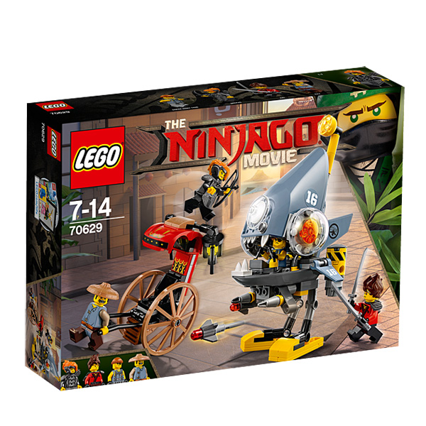 70629-LEGO® Ninjago L´attaque des Piranhas