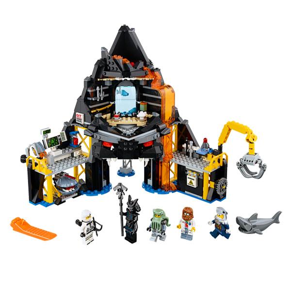70631 - LEGO® NINJAGO - Le repaire volcanique de Garmadon