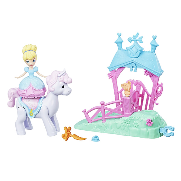 princesses disney mini poup e et son ami hasbro king jouet figurines et cartes. Black Bedroom Furniture Sets. Home Design Ideas