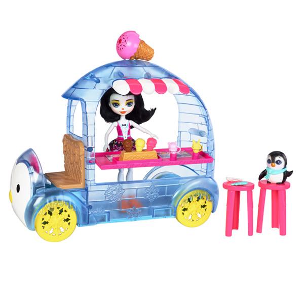 Enchantimals-Le camion de glace de Mr Pingouin