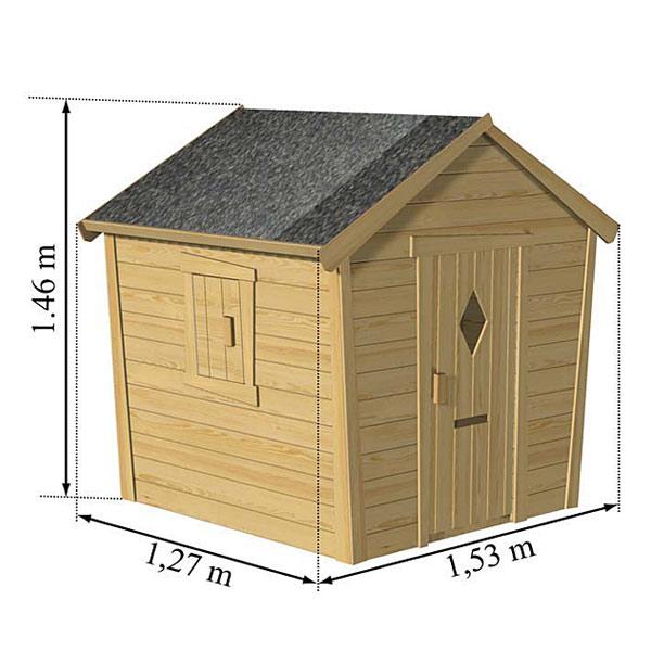 Maison en bois Pauline