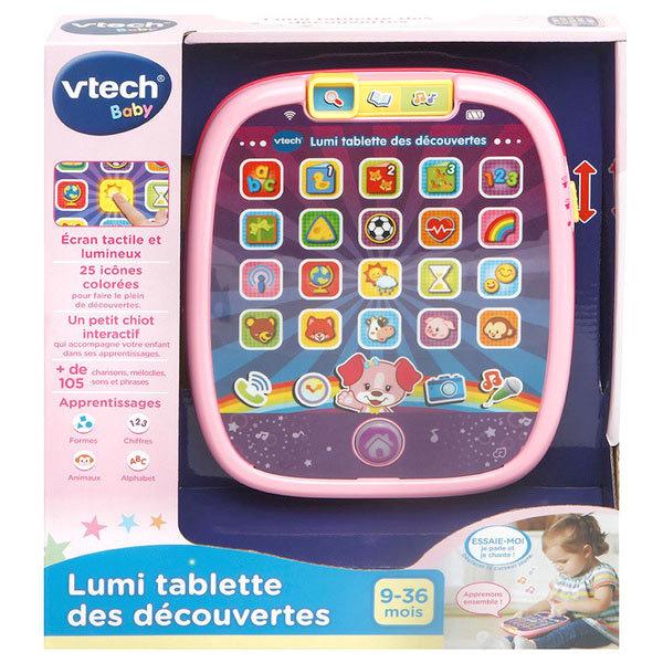 Lumi tablette découvertes rose
