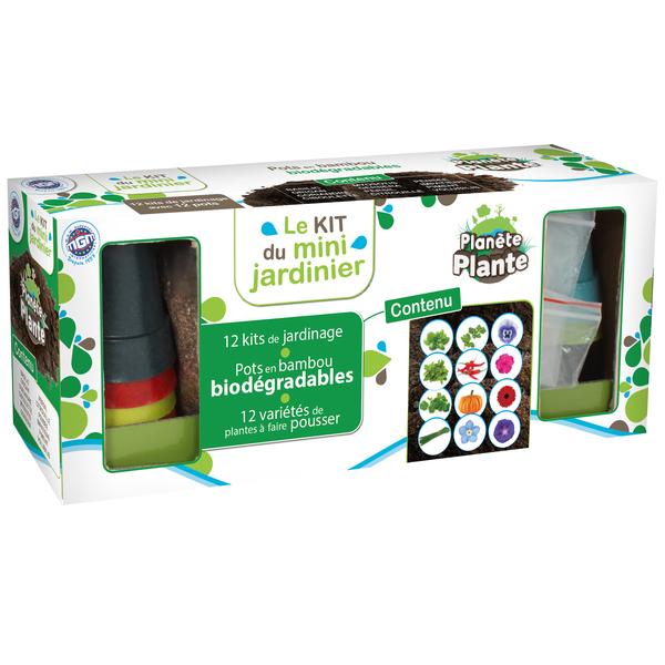 Kit mini jardinier 12 pots