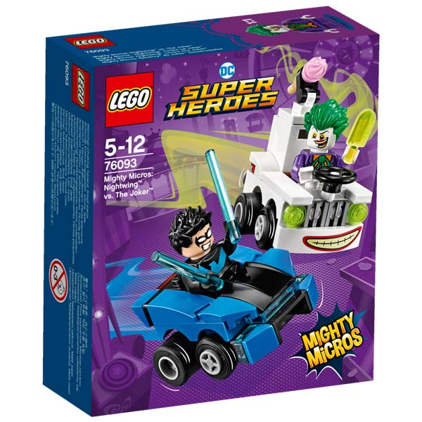 76093-LEGO® Mighty Micros Nightwing contre Le Joker
