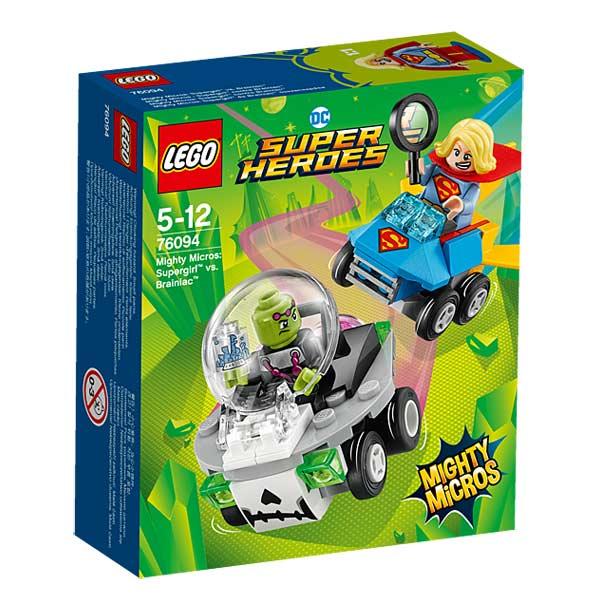 76094-LEGO® Mighty Micros Supergirl contre Brainiac