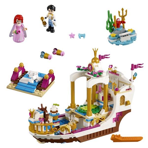 41153 - LEGO® Disney Princesses Mariage sur le navire royal d