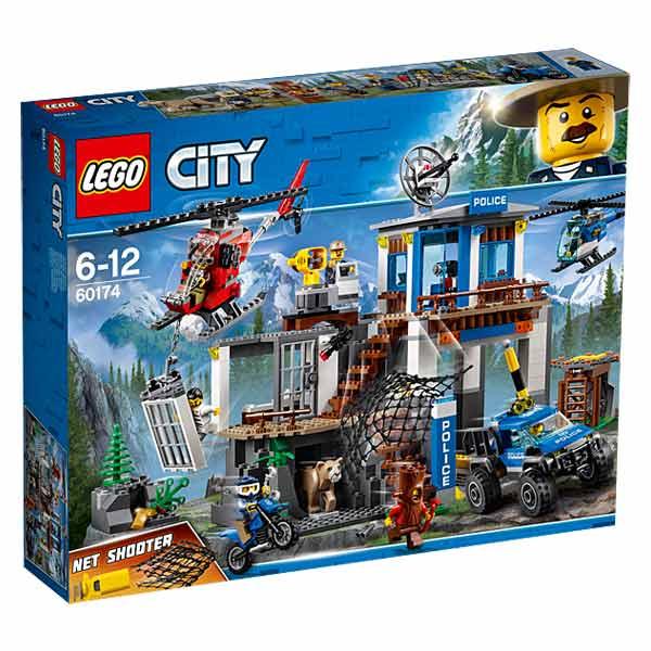 60174 - LEGO® CITY - Le poste de police de montagne