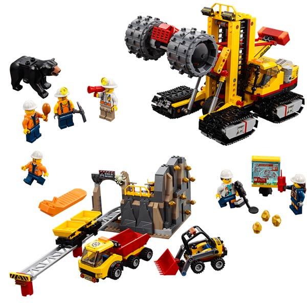 60188 D'exploration City Lego® Le Site Minier XiOkuPTwZ