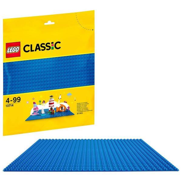 10714-LEGO® plaque de base bleue