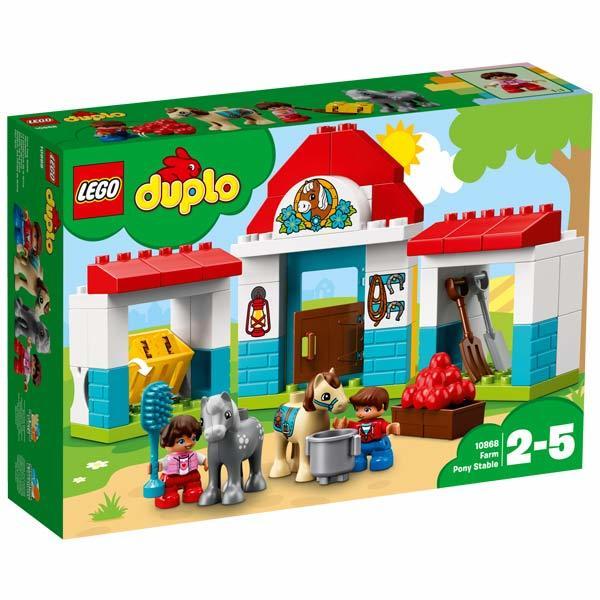 10868-LEGO® Le poney-club de la ferme