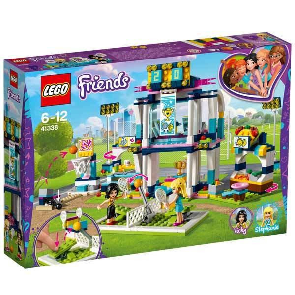 41338 lego friends le club de sport de st phanie lego king jouet lego planchettes. Black Bedroom Furniture Sets. Home Design Ideas