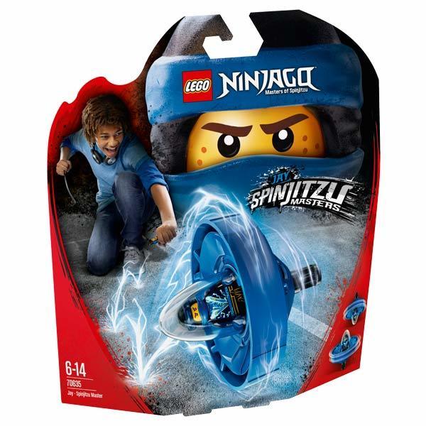 70635-LEGO® Toupie Jay Maître du Spinjitzu