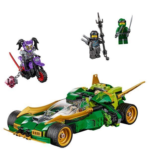 70641 - LEGO® NINJAGO - Le bolide de Lloyd