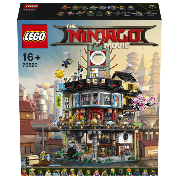 70620 lego ninjago la ville lego king jouet lego briques et blocs lego jeux de. Black Bedroom Furniture Sets. Home Design Ideas