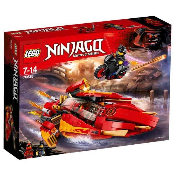 70638 lego ninjago le bateau katana v11 - Jeux De Lego Ninjago Spinjitzu