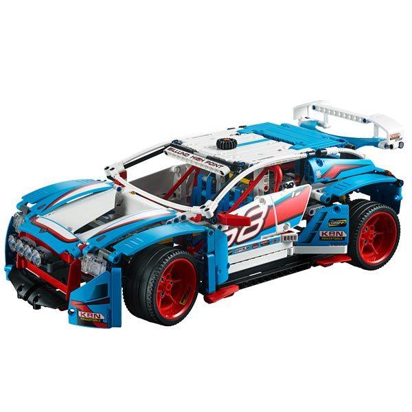 42077 lego technic la voiture de rallye lego king. Black Bedroom Furniture Sets. Home Design Ideas