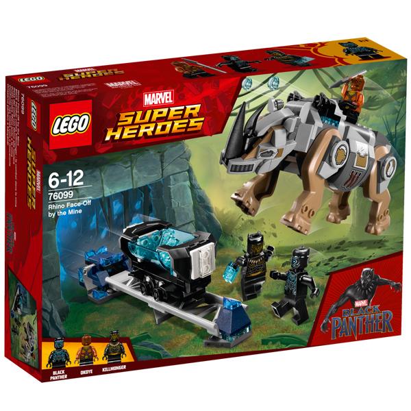 76099-LEGO® Black Panther contre Killmonger