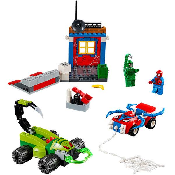 Lego® Man Scorpion Contre Jouet Wpxn80znok 10754 Spider Legoking 6Yf7gyvb