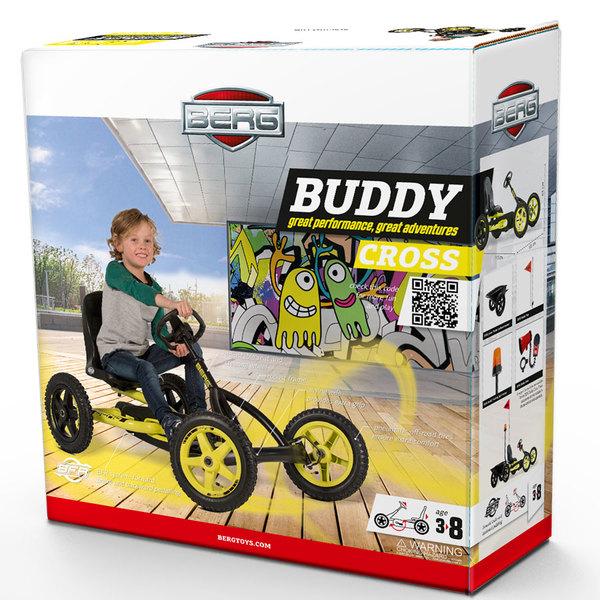 Kart à pédales Buddy Cross
