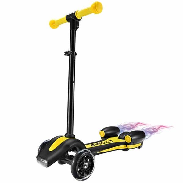 Trottinette Turbo jaune
