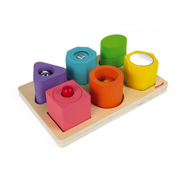 Puzzle 6 cubes sensoriels