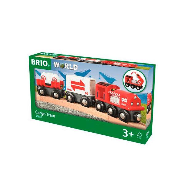 Brio World 33888-Train citerne avec chargement