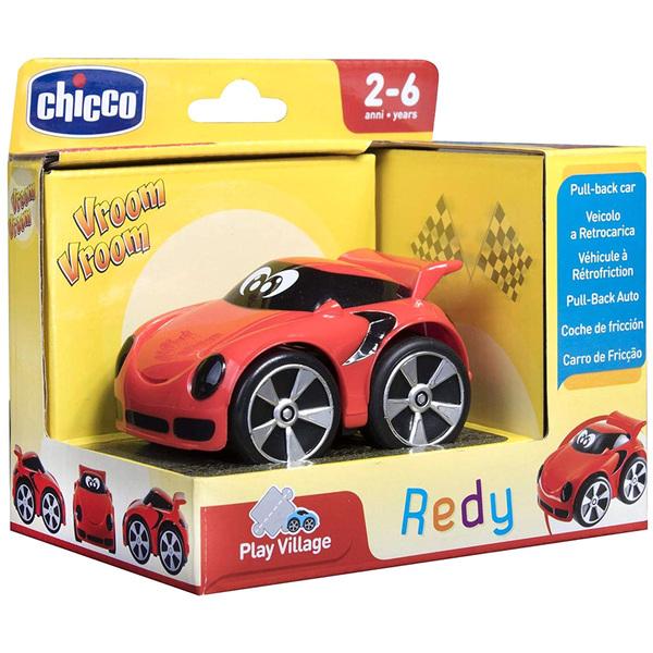 Véhicule Mini Turbo Team Redy rouge