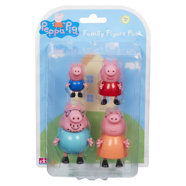 Peppa Pig - Coffret Famille 4 Figurines