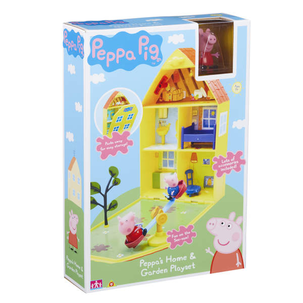 Peppa Pig - Maison de Peppa avec Jardin