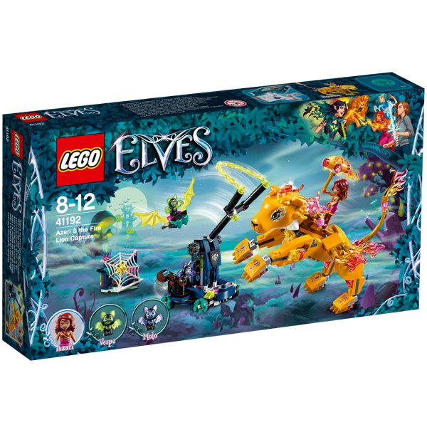 41192 - LEGO® ELVES - Azari et la Capture du Lion de Feu