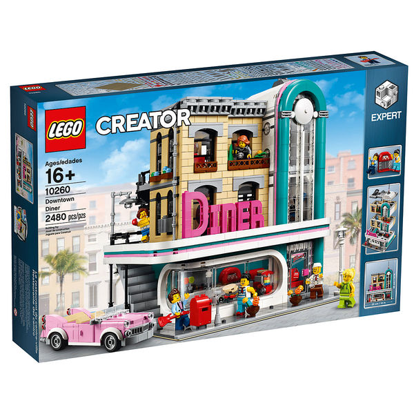 10260 - LEGO® Creator Expert Un dîner au centre-ville