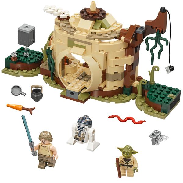 75208 Lego® Star Yoda Wars La De Hutte klwXiOuPTZ