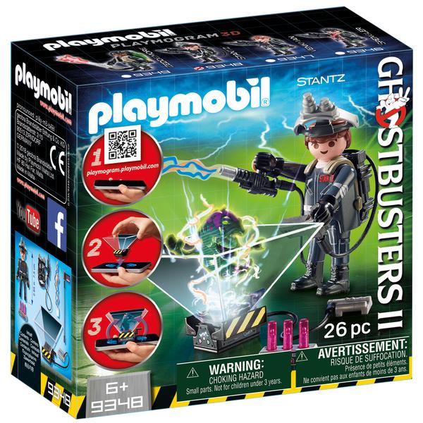 9348-Playmobil Ghostbuster Raymond Stantz