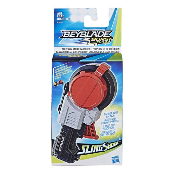 Toupie Beyblade Burst Turbo Slingshock-Lanceur Beyblade Burst Maxi Precision