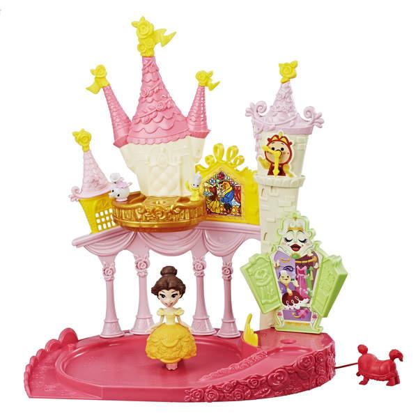 Mini poupée Belle et la Salle de Bal Enchantée - Disney Princesses