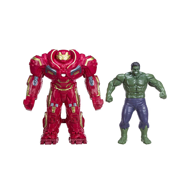 Figurine 2 en 1 Avengers Infinity War - Hulkbuster