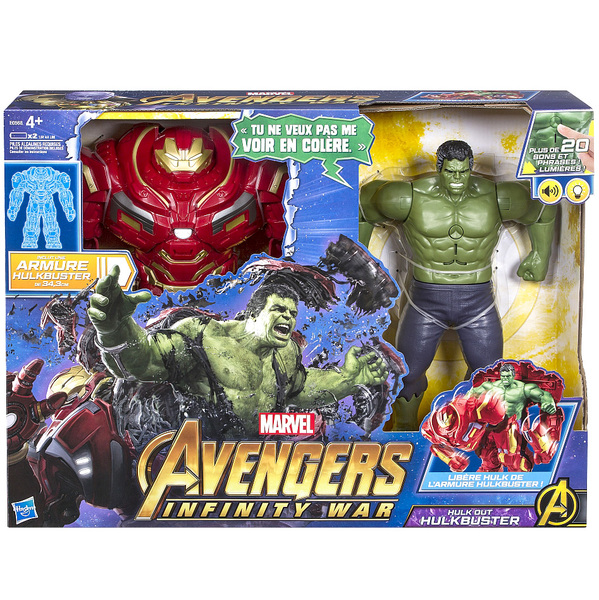 Figurine 2 en 1 avengers infinity war hulkbuster hasbro king jouet figurines hasbro jeux - Jeux iron man gratuit ...