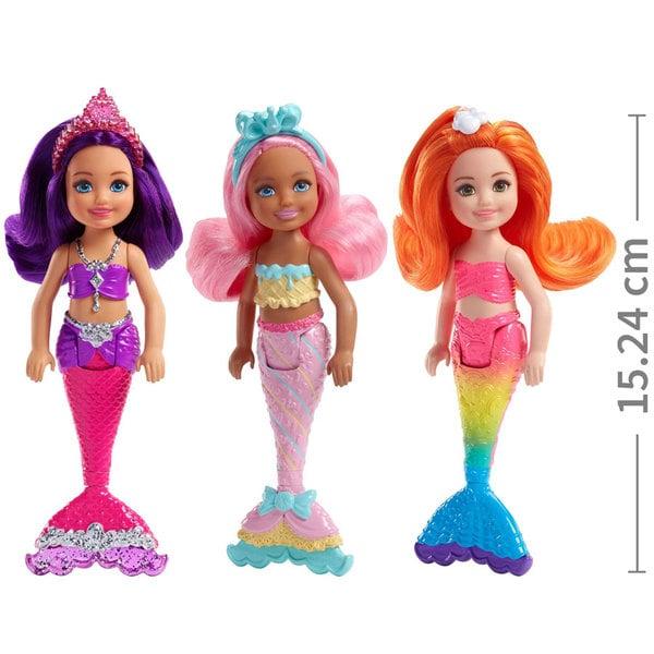 Barbie poup e chelsea petite sir ne mattel king jouet poup es mannequin mattel poup es - Barbie barbie sirene ...