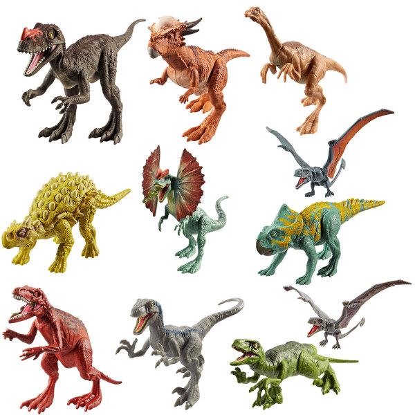 Jurassic world figurine dinosaure attaque mattel king - Dinosaure jurassic world ...