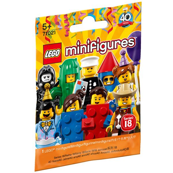 71021 - LEGO® Sachet minifigurine avril 2018