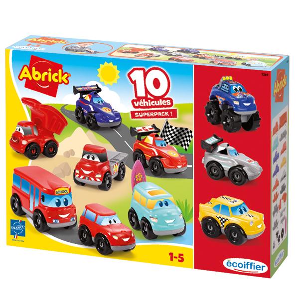 Coffret 10 véhicules Fast Car