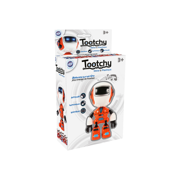 Robot Tootchy lumineux