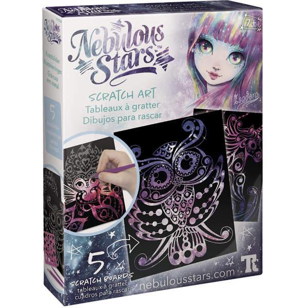 Coffret Nebulous Stars tableaux à gratter