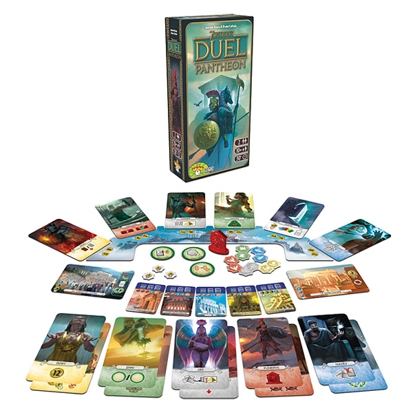 7 Wonders extension Duel Panthéon