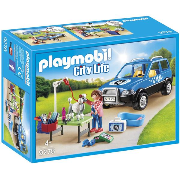 9278 - Toiletteuse avec véhicule Playmobil City Life