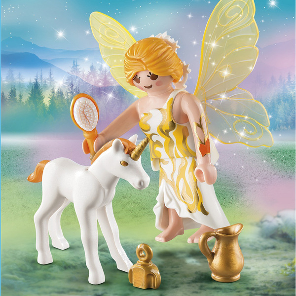 9438 - Fée et bébé licorne Playmobil Fairies